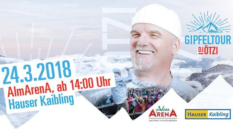 DJ Ötzi Gipfeltour am Hauser Kaibling