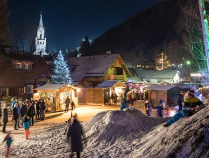 Advent am Talbach in Schladming