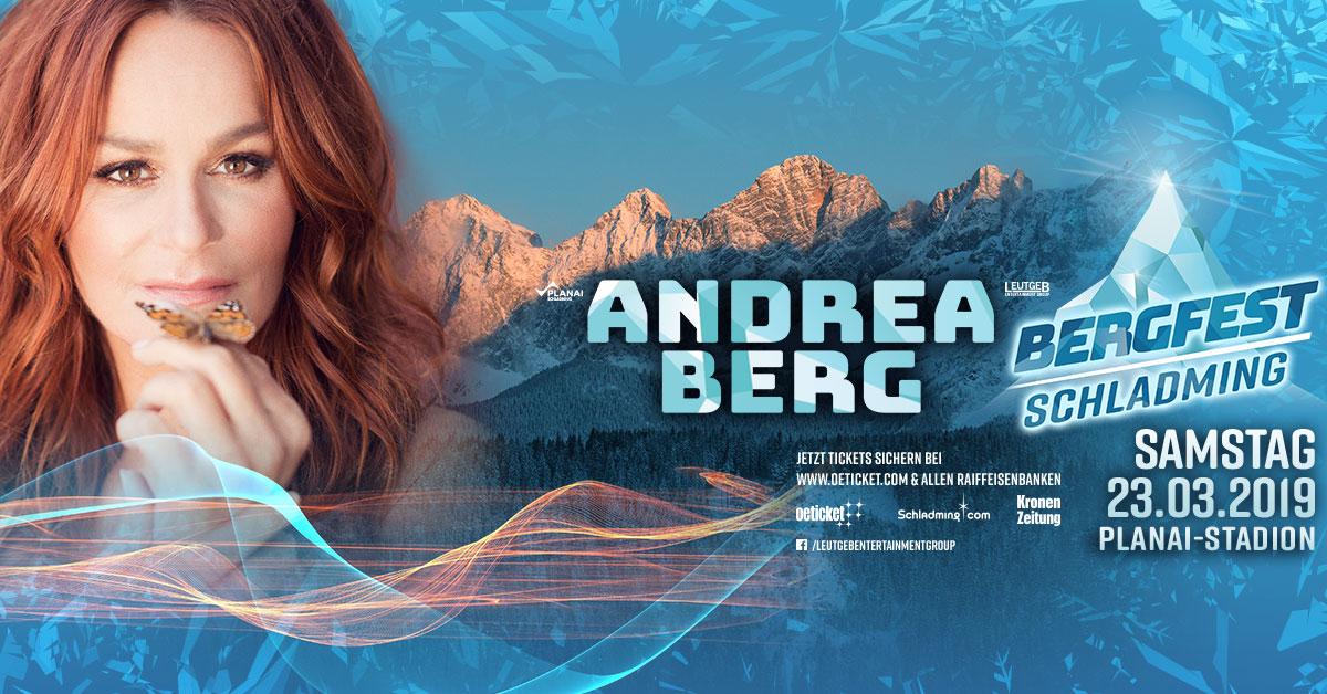 BERGFEST SCHLADMING mit Schlagerkönigin ANDREA BERG