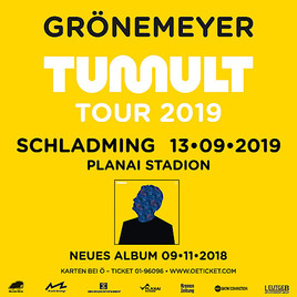 Herbert Grönemeyer - Open-Air TUMULT-TOUR 2019